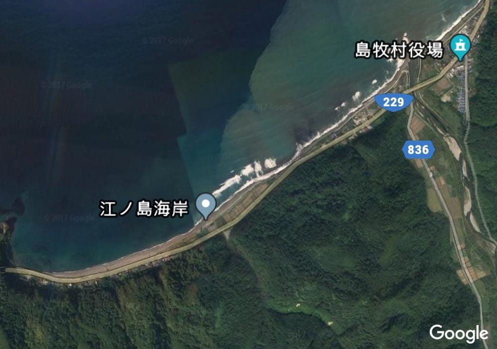 冬の時期は北海道の島牧江の島海岸で海アメが釣りたい!