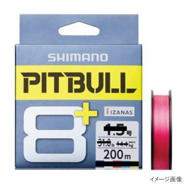 シマノ ピットブル8+ LD-M61T 200m 1.2号 トレーサブルピンク